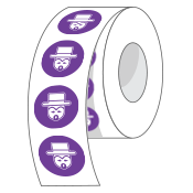 custom-Circle-Roll-Labels