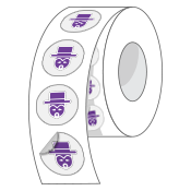 custom-Clear-Roll-Labels